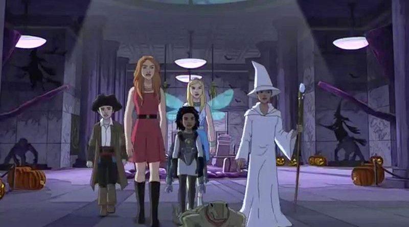 Смотреть 3 сезон 21 серию — Ночь в музее на Хеллоуин — онлайн