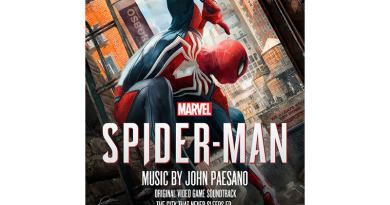 Музыка к видеоигре «Marvel's Spider-Man: The City That Never Sleeps EP» (by John Paesano)