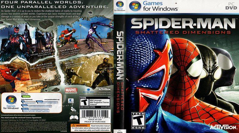 Описание к видеоигре «Человек-Паук: Разрушенные Измерения» (Spider-Man: Shattered Dimensions)